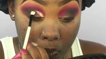 Tutorial De Maquiagem Para Pele Negra, Vale A Pena Conferir O Resultado!