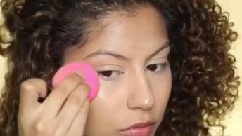 Tutorial De Maquiagem Para Pele Parda, Mais Um Vídeo Muito Bom!
