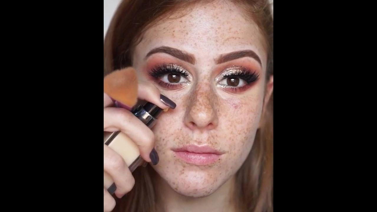 Tutorial de maquiagem para ruivas