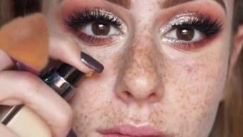 Tutorial De Maquiagem Para Ruivas, Perfeita Para Festas!