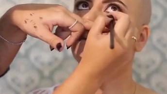 Tutorial De Maquiagem Perfeito, Ela Já Era Linda E Ficou Ainda Mais. . .