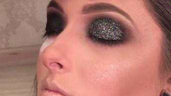 Tutorial De Maquiagem Perfeito Para Passar O Natal! Olha Só Que Linda!