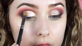 Tutorial De Maquiagem Que Fica Perfeito, Que Make Maravilhosa, Confira!