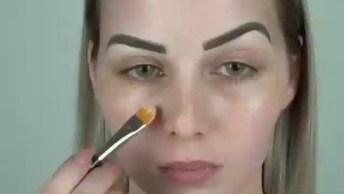 Tutorial De Maquiagem Que Toda Menina Vai Amar, O Resultado É Lindo!