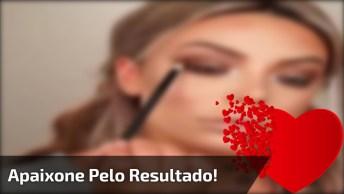 Tutorial De Maquiagem Sensacional, Você Vai Se Apaixonar Pelo Resultado!