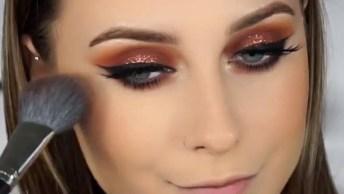 Tutorial De Maquiagem Simples E Linda, Siga O Passo A Passo!