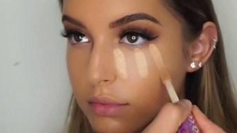 Tutorial De Maquiagem Simples - Os Resultados São Incríveis!