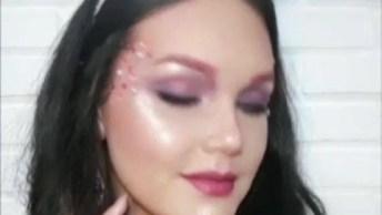 Tutorial De Maquiagem Tema Unicórnio, Ela É Perfeita Para Festas A Fantasia!