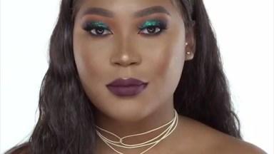 Tutorial De Maquiagem Verde Para Pele Morena, Fica Um Verdadeiro Show!
