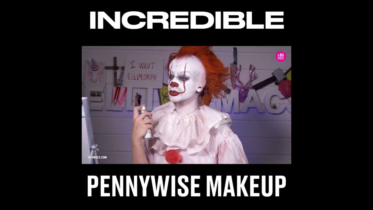 Tutorial de Pennywise do filme A coisa