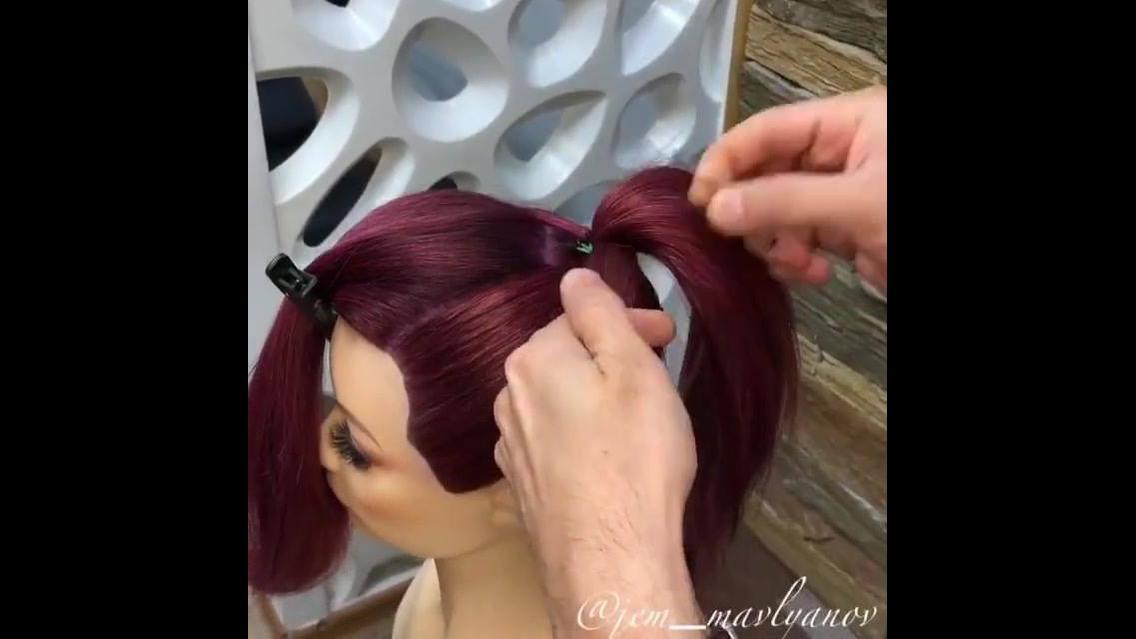 Tutorial de penteado com coque todo trabalhado