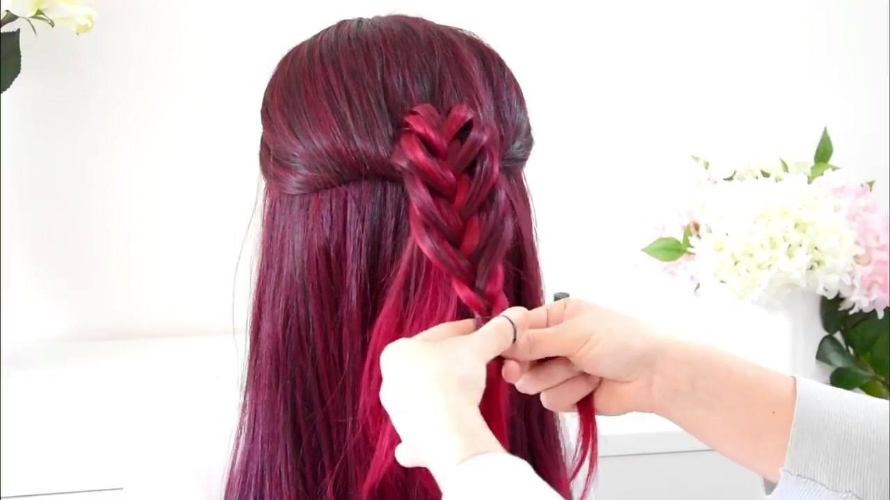 Tutorial de penteado com trança super fácil de fazer, vale apena conferir!!!
