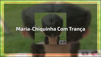 Tutorial De Penteado De Maria-Chiquinha Com Trança Em Formato De Borboleta!