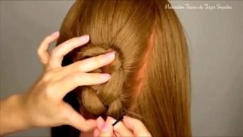 Tutorial De Penteado Lindo Para Você Fazer Nas Amigas, Olha Só Que Leal!