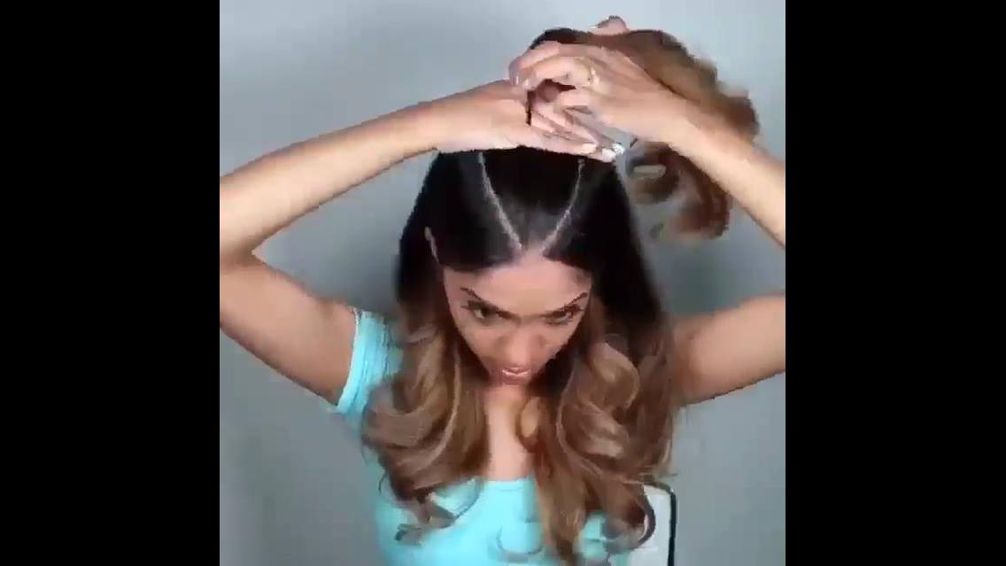 Tutorial de penteado lindo para você mesma fazer, vale a pena conferir!!!