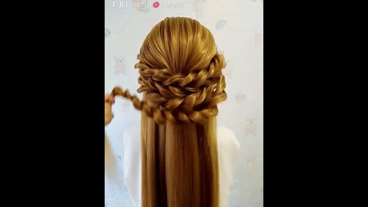 Tutorial de penteado para cabelos médio para noivas, olha só que lindos!!!