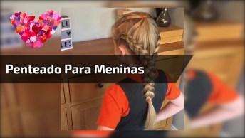 Tutorial De Penteado Para Garotinhas, Bora Compartilhar Com As Mamães!