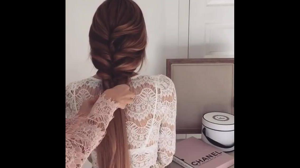 Tutorial de penteado para noivas com mega hair