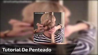 Tutorial De Penteado Para Você Mesma Fazer, Com Tiara De Strass!