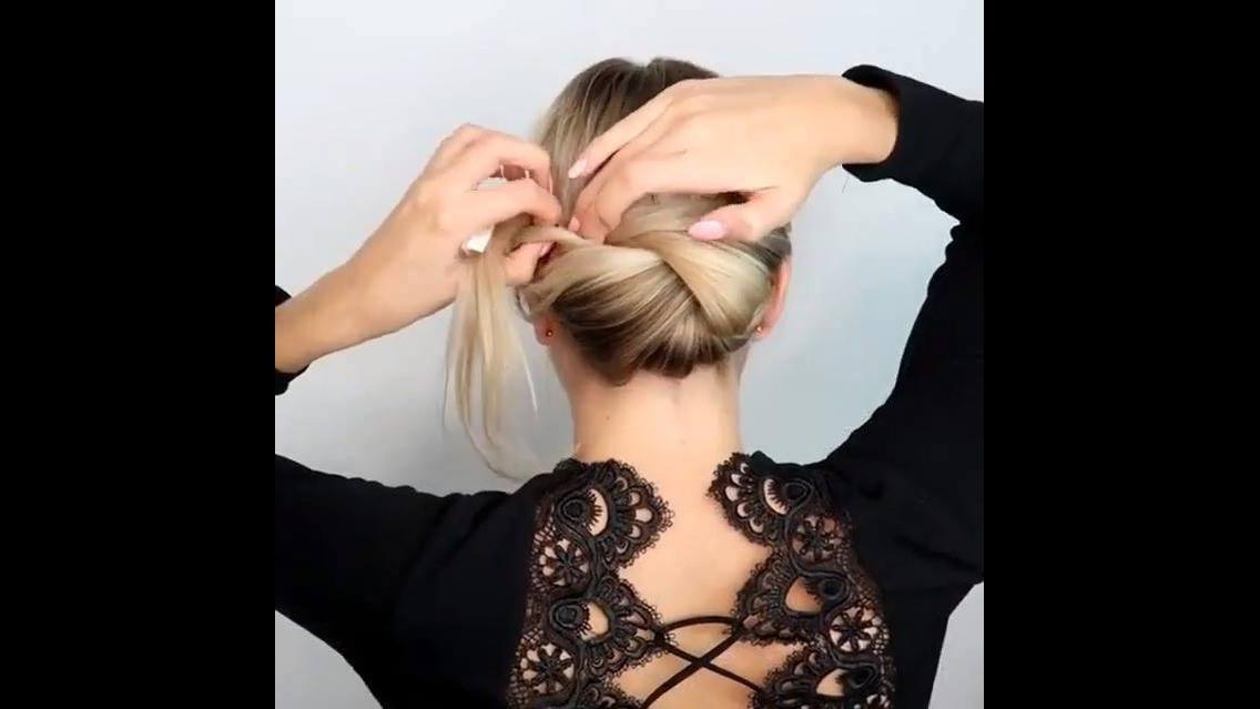 Tutorial de penteado para você mesma fazer, olha só que luxo este penteado!!!