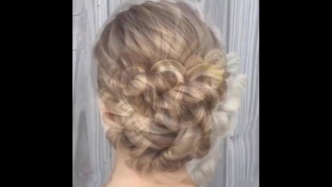 Tutorial de penteado super lindo para festas,vale apena conferir!!!