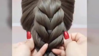 Tutorial De Penteados Com Cabelo Preso, É Um Mais Lindo Que O Outro!