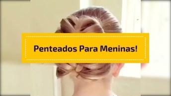 Tutorial De Penteados Para Garotas, Marque Todas Mamães De Plantão!