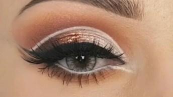Tutorial De Sombra Para Os Olhos Uma Mais Linda Que Outra, Vale A Pena Conferir!