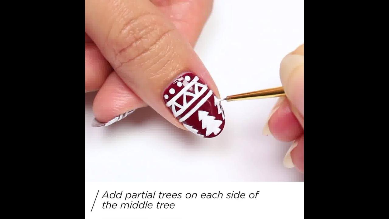 Tutorial de unhas decoradas para o natal, veja como são lindas!!!