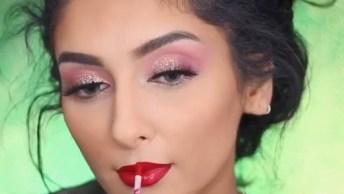 Tutorial Divertido De Maquiagem, Mais Um Vídeo Que Toda Mulher Vai Amar!