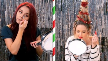 Tutorias De Maquiagem E Cabelo Para Você Escolher Para O Natal!