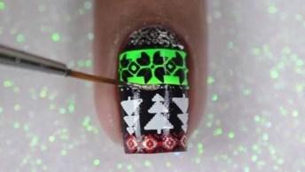 Unha Decorada Com Tema De Natal, Olha Só Estes Desenhos Que Lindos!