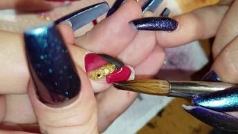Unha Sendo Feita Com Acrigel, Olha Só Que Perfeição Os Detalhes!