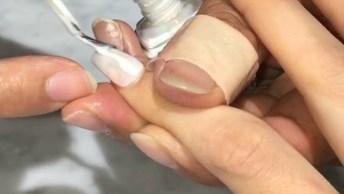 Unhas Com Glitter Em Degradê, Para Ficar Com As Mãos Perfeitas!