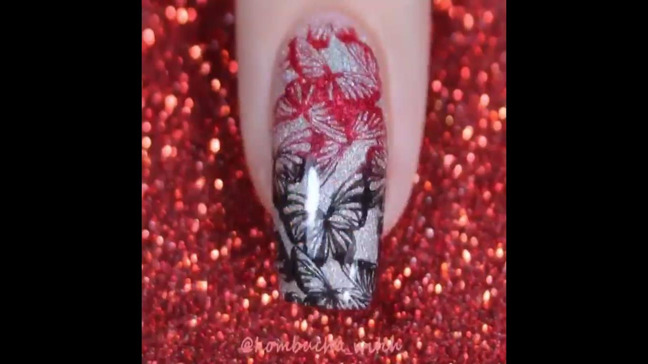 Unhas decoradas com carimbo para unhas, veja que lindas inspirações!!!