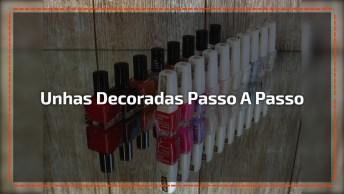 Unhas Decoradas Passo A Passo - Compartilhe Com As Amigas Do Facebook!