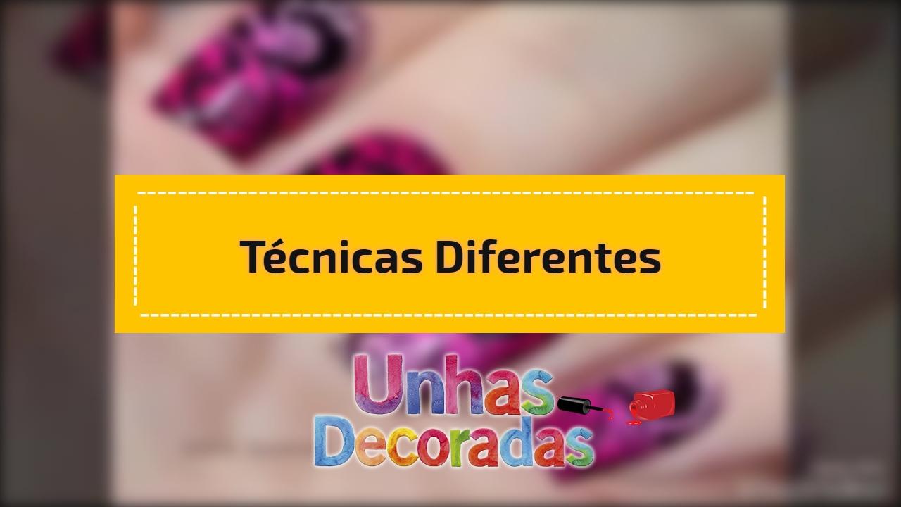 Técnicas diferentes