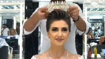 Veja Como Esta Noiva Ficou Maravilhosa, Uma Inspiração Para Outras Noivas!