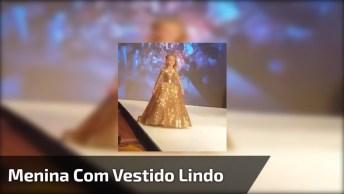 Vestido De Gala Para Meninas, Olha Só Que Sonho De Vestido!