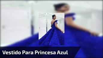 Vestido De Gala Parece Ter Saído De Um Filme De Princesa Encantada!