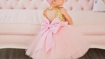 Vestidos De Princesas Para Meninas, É Um Mais Lindo Que O Outro!