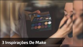 Vídeo Com 3 Inspirações De Maquiagem, É Só Dar O Play E Escolher A Sua Preferida
