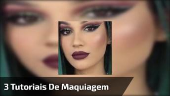 Vídeo Com 3 Tutoriais De Maquiagem Para Você Arrasar Em Todos Momentos!