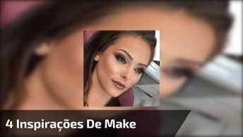 Vídeo Com 4 Inspirações De Maquiagem Para Formandas, São Todas Lindas!
