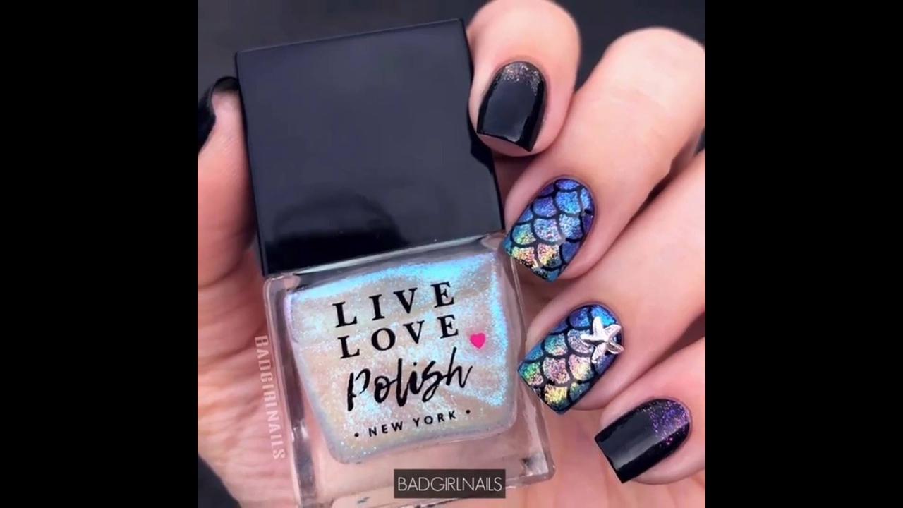 Vídeo com decoração de unhas, é um mais lindo que o outro, confira!!!