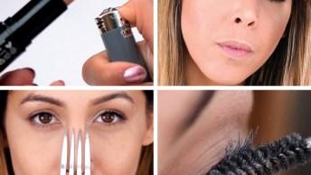 Vídeo Com Dicas Incríveis Para Você Fazer Na Hora Da Maquiagem, Confira!