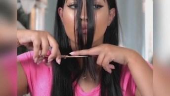 Vídeo Com Dicas Para Cortar Você Mesma Seus Cabelos, E Tutorial De Penteados!