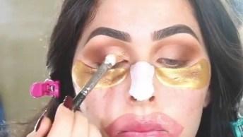 Vídeo Com Duas Inspirações De Maquiagem, Vale A Pena Conferir!