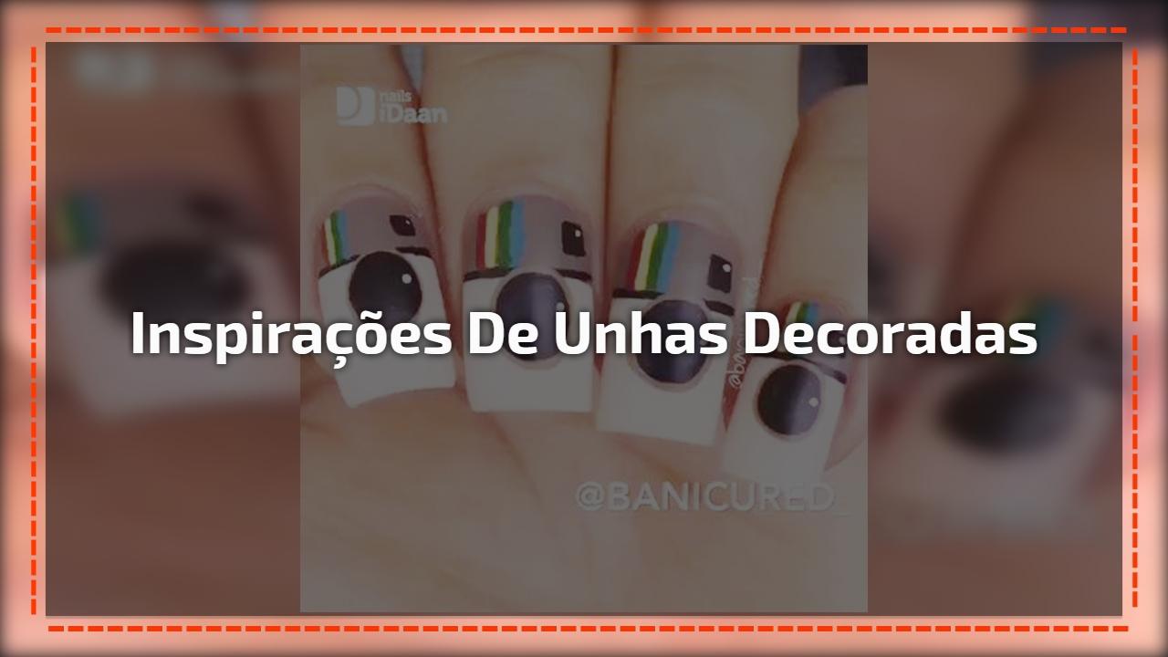 Inspirações de unhas decoradas