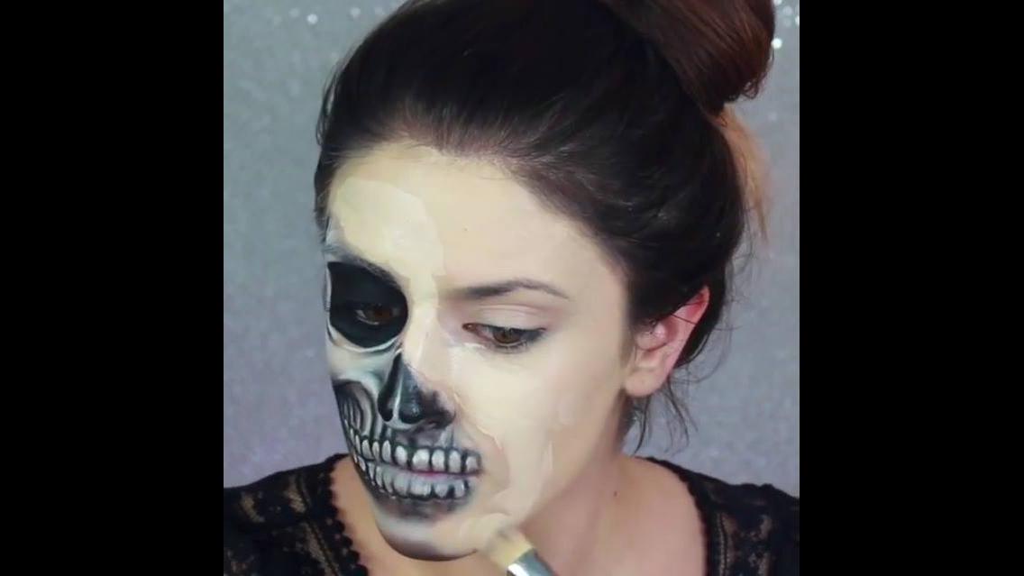 Vídeo com ideias de maquiagem para o Halloween